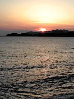 故郷の落陽